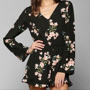 Urban Outfitters ~ Long Sleeve Romper